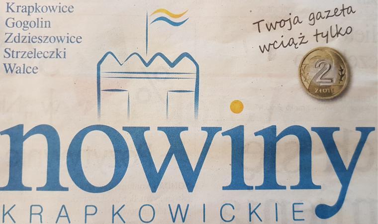 Współpraca z Nowinami Krapkowickimi