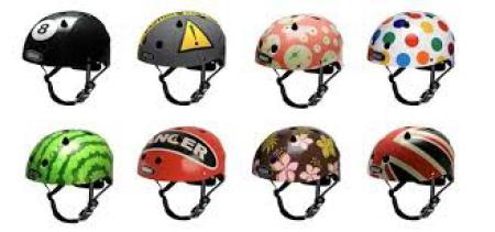 Na rower ZAWSZE z kaskiem na głowie