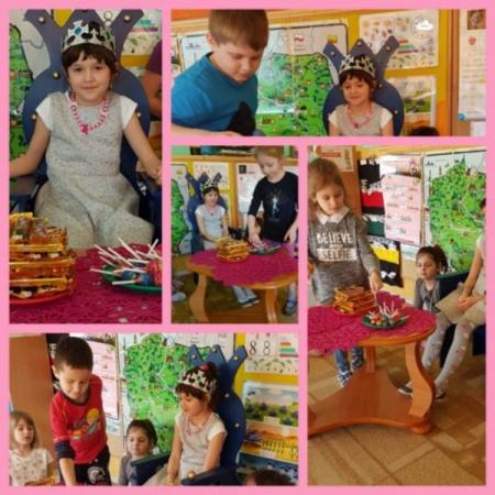 Śiódme urodziny Kai w przedszkolu